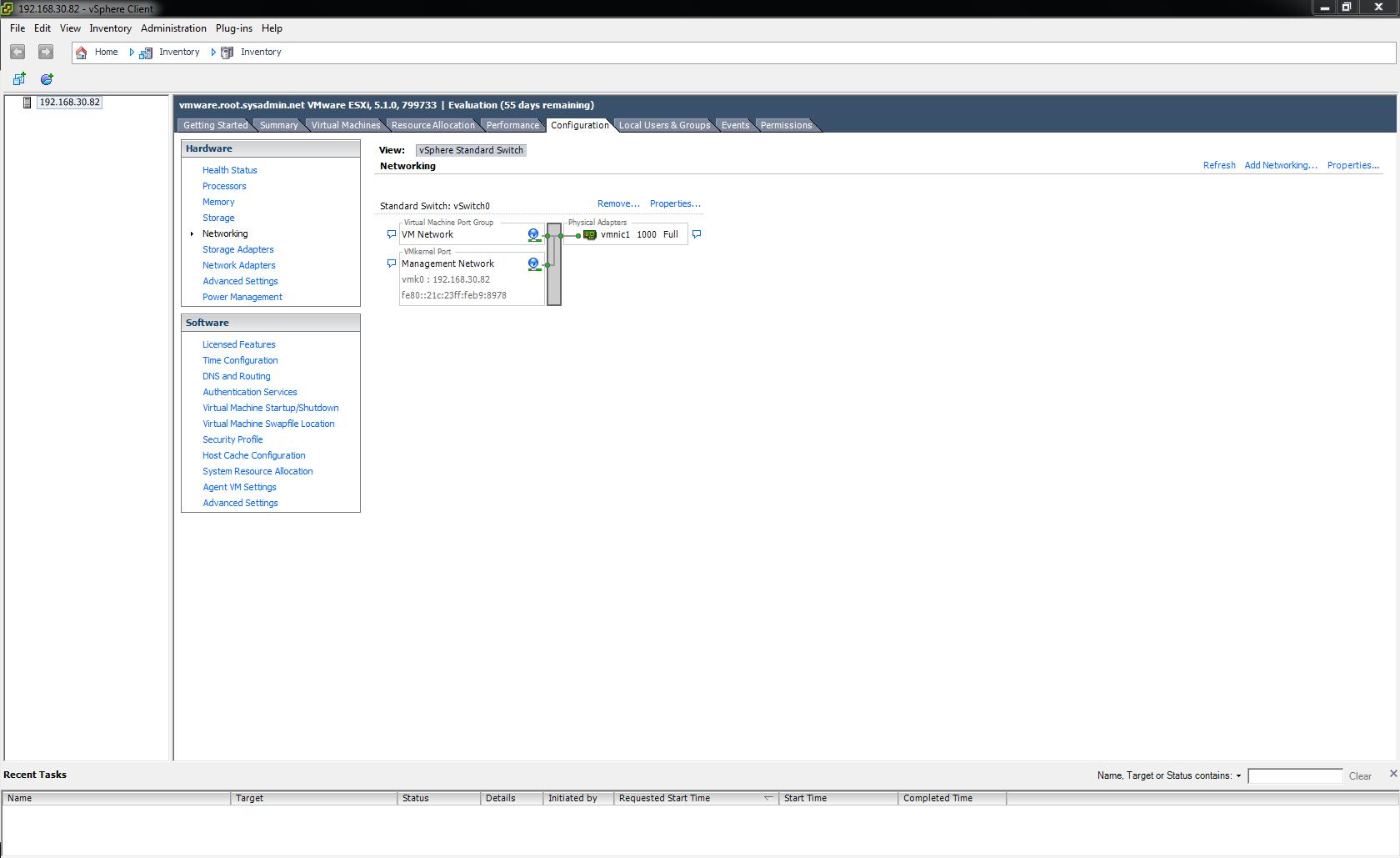 VMware ESXi 5 – iSCSI Configuration – Noel Alvarez
