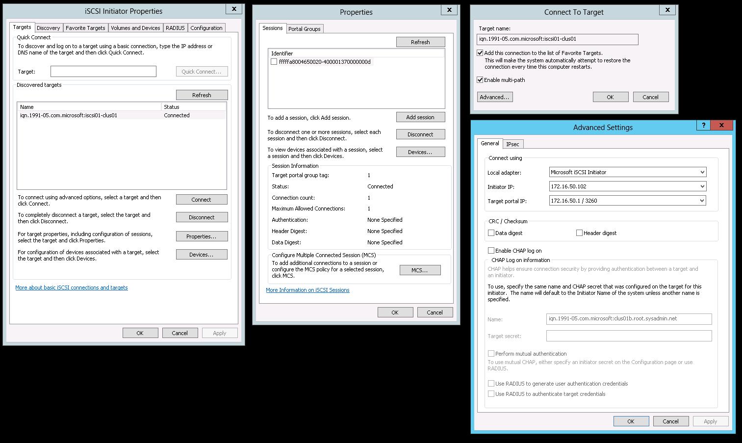 Microsoft Windows Server 2012 – Add and Configure the Multipath I/O