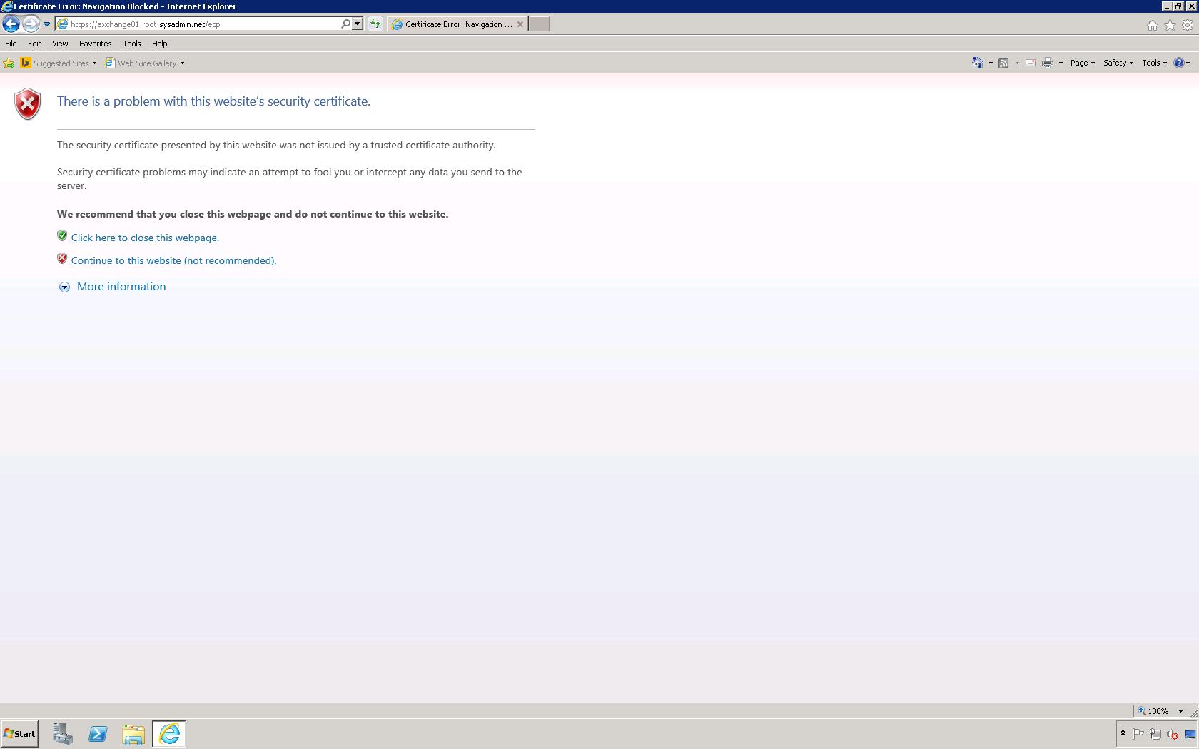 Noel Alvarez Microsoft Exchange Server 2010 Access The Exchange