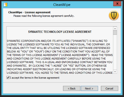 cleanwipe for symantec