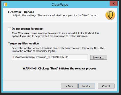 symantec cleanwipe windows 7